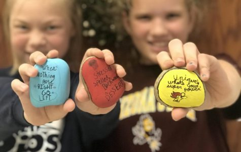 Kindness rocks come to Columbia Intermediate