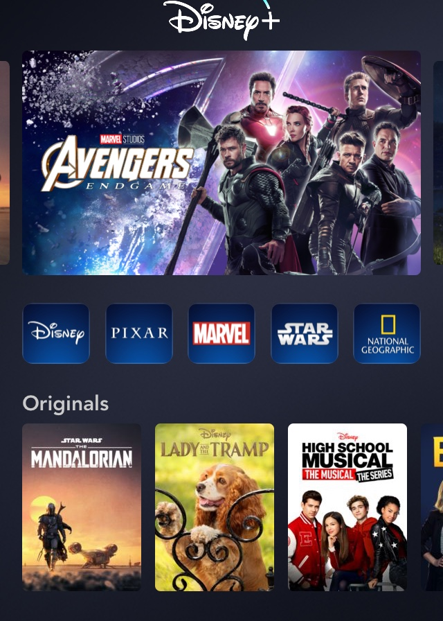 Disney%2B%27s+new+interface+shows+originals+and+looks+familiar+to+Netflix+users