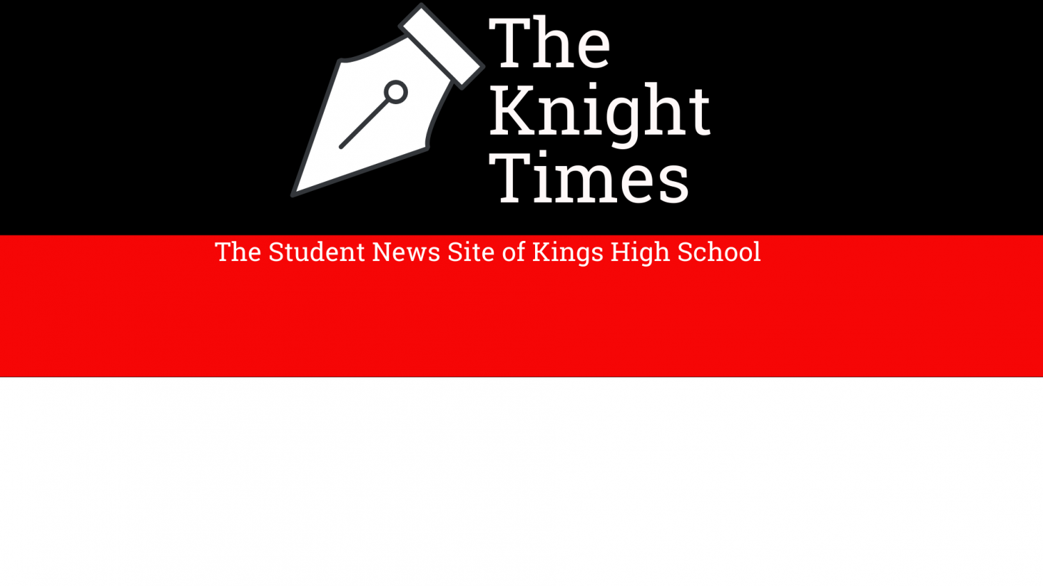 The Student News Site of Kings High School
