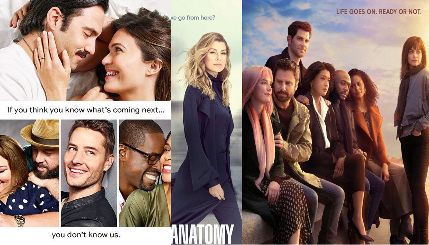 TV Fall Finale Series Posters