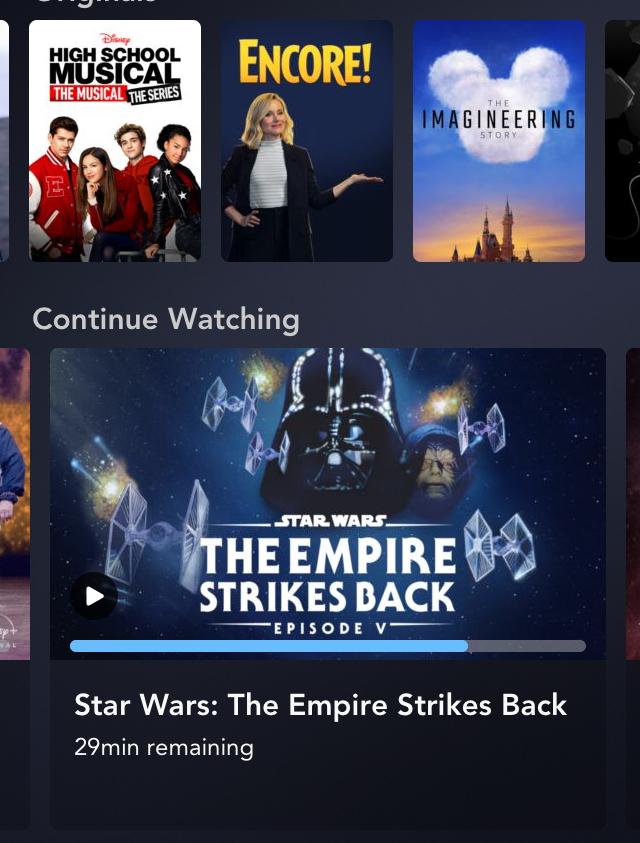 Disney+ Must Watch List