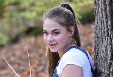 Katie Arnesen, senior.