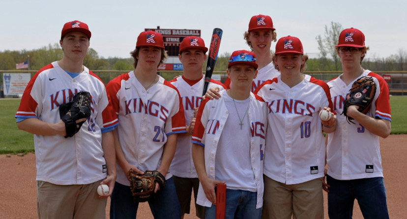 Baseball Seniors - Photo by Jim Shult
