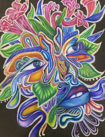 Lucid Dreaming, By Ashton Ulbrich, made using colored pencils